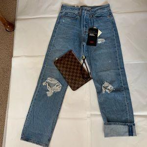 Levi's Premiun Wedgie straight jeans